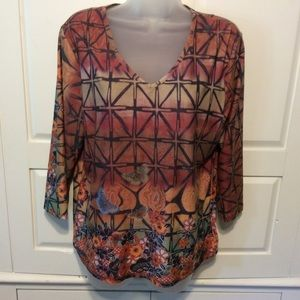 Christopher & Banks Blouse L